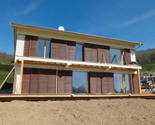 Sylvicolor maison passive écologique labélisé en 2017. Constuction Eco2travaux.