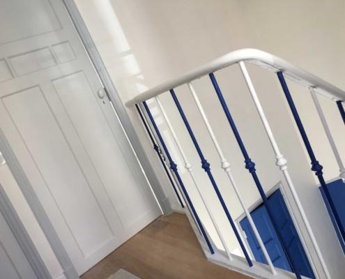 Escalier - Portes - Sylvicolor - Peintures Naturelles- Lyon