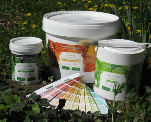 Pot de peinture - Sylvicolor - Peintures Naturelles- Lyon
