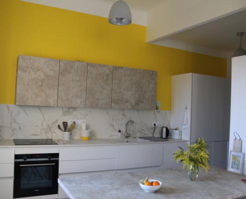 Sylvicolor - peinture mate à plafond blanc dans une maison stylée dans le sud de la France