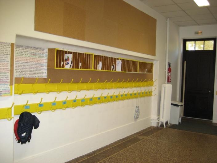 Sylvicolor2 Peinture sans odeur naturelle jaune dans une école primaire sur Lyon