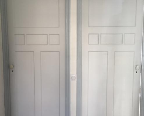 Sylvicolor Mise en valeur des portes anciennes avec des peintures écologiques sans odeur de Natura